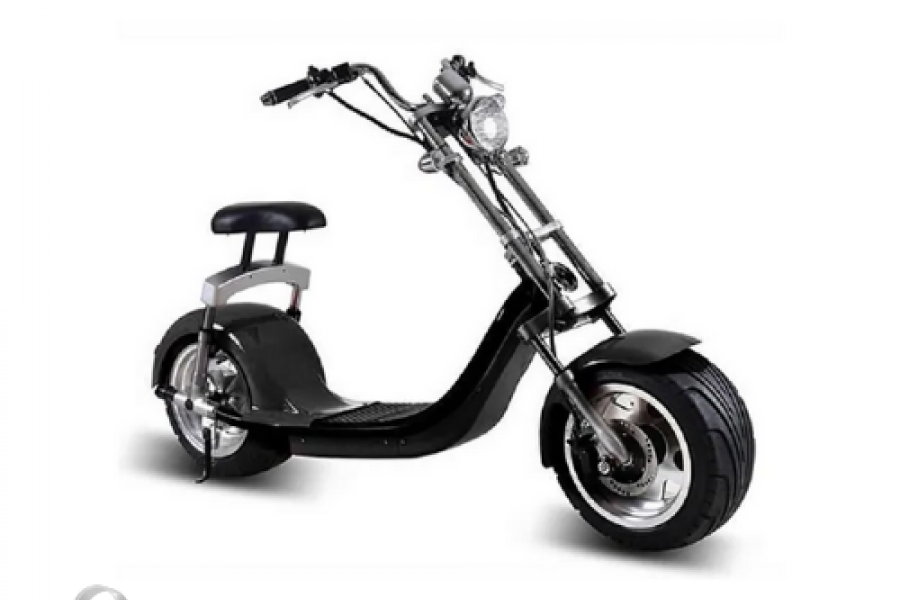 Rafplay - King Henry Fat Tyre Harley Scooter 60kmph With Removable Battery