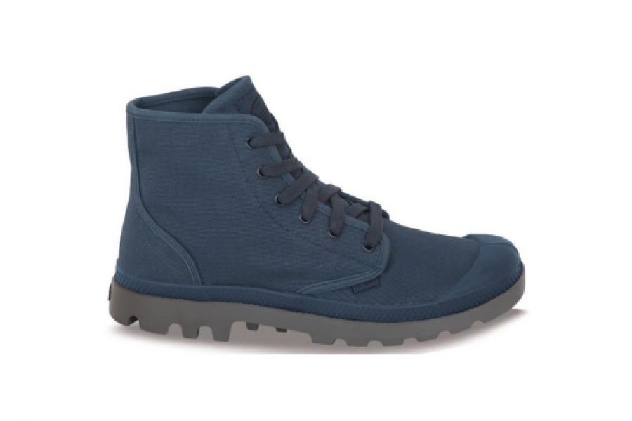 palladium - PAMPA HI Men's shoes/ metallic indigo