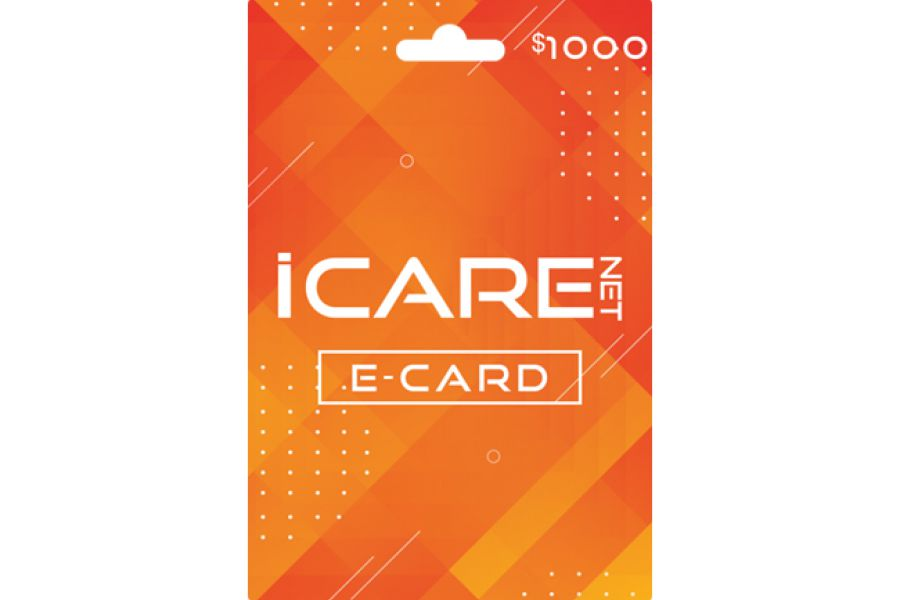 I Care Net E-Cards 1000 USD