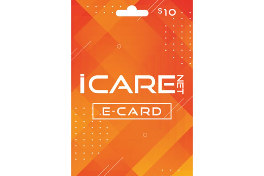 I Care Net E-Cards 10 USD