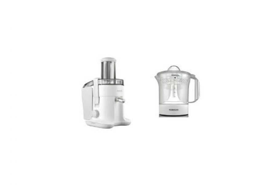 Kenwood - Juicer MP135 ( Juicer Extractor JE680 + Citrus Juicer JE280 )
