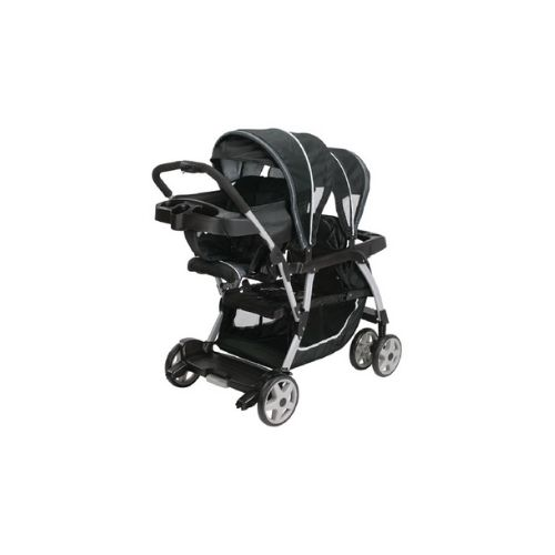 Mattajir Kids Products Baby Stroller Graco Ready2grow Click Connect Lx Double Stroller Gotham