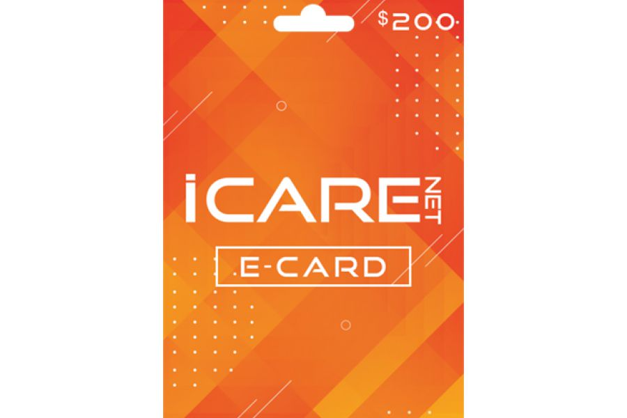 I Care Net E-Cards 200 USD
