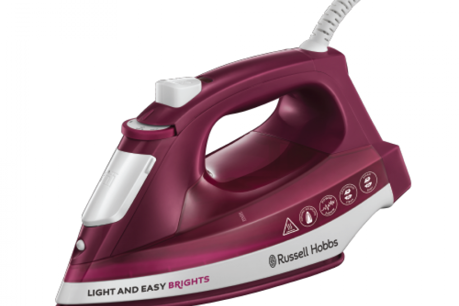 Russell Hobbs - 24820 Light and Easy Brights Iron 2400 W Mulberry