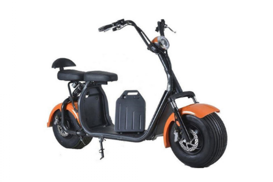 Rafplay - Coco Harley Station Scooter With 60 V Removable Battery