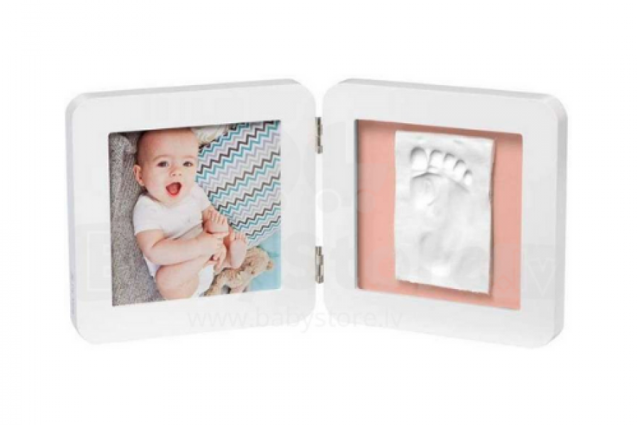 Baby Art - My Baby Touch Simple print frame-White