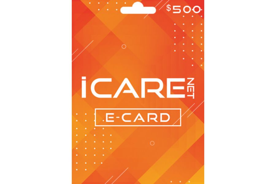 I Care Net E-Cards 500 USD