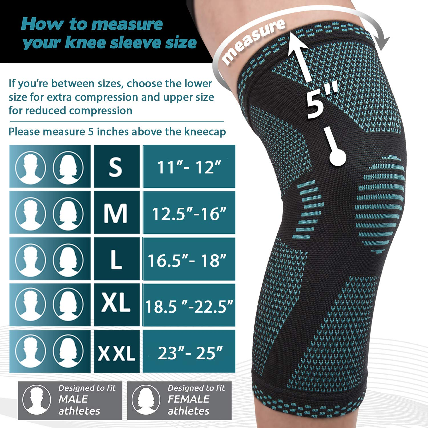 79248dcbe1 Home Page / Sports / POWERLIX Compression Knee Sleeve