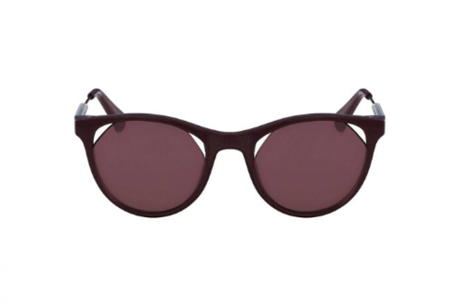 Calvin Klein - Full Rim Cat Eye Burgundy Women's Sunglasses
