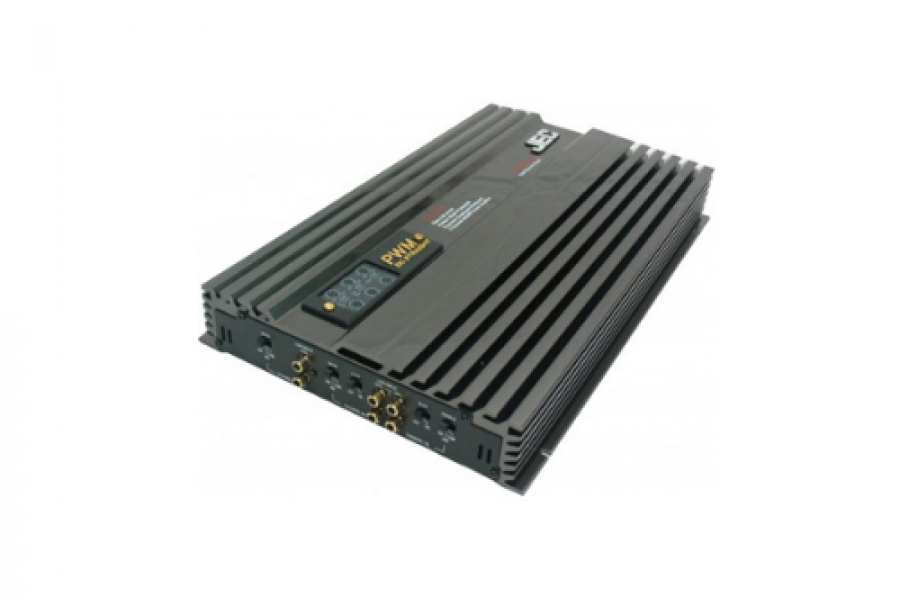 Jec Japan - 5 Channel Mosfet Car Amplifier 50x4 150W