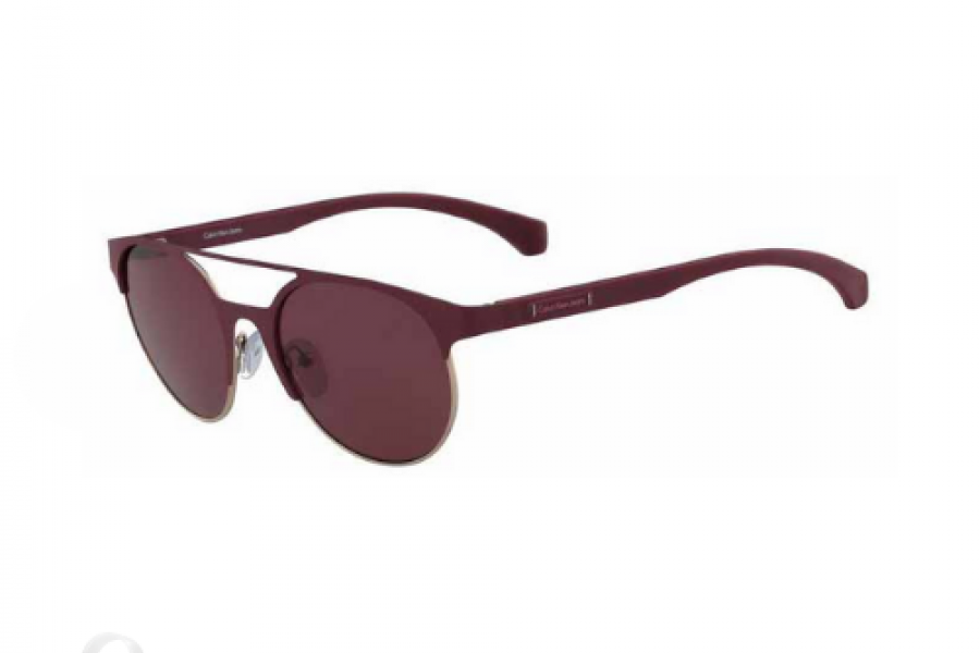 Calvin Klein - Jeans Round Red For Women Sunglasses Red Lens