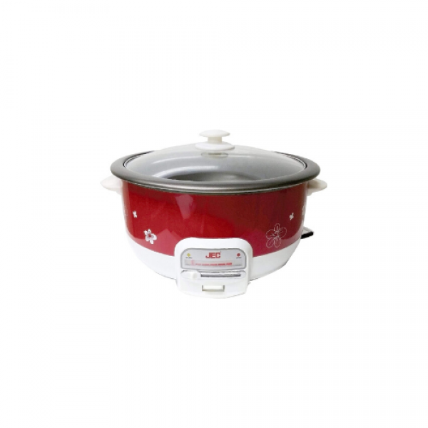 Jec Japan -   Electric Multi Cooker Red