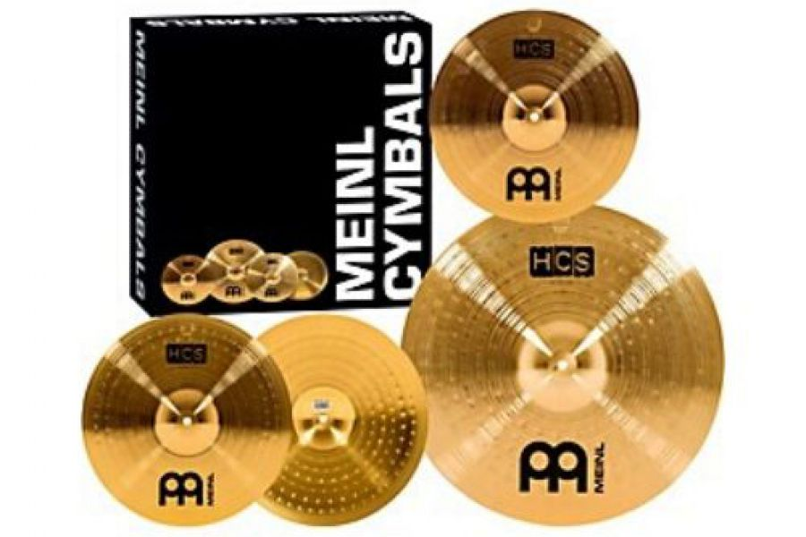 "Complete Set of Cymbals w/ 10"" Splash Free"