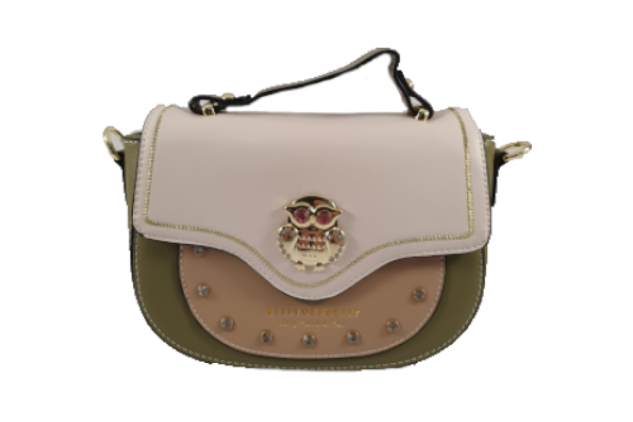 Betty Boop - Women's Handbag with Parrot Lock Button