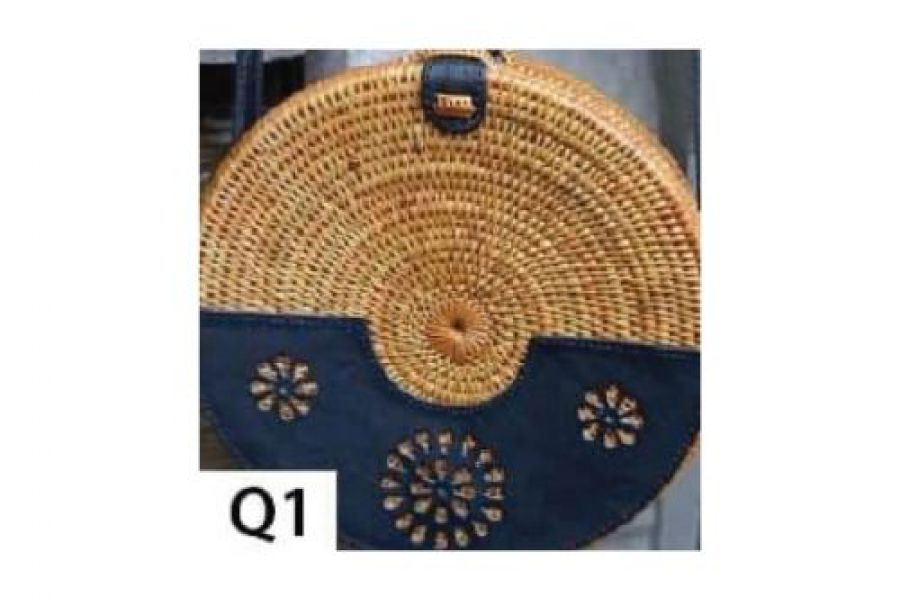 Rattan - Woven Bags Genuine with Different Design -Q1 Rattan Bags