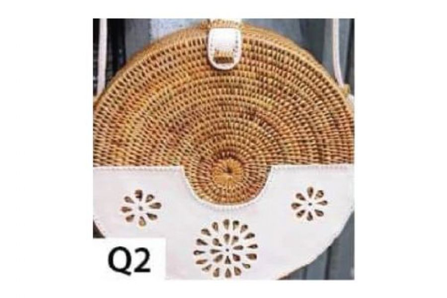 Rattan - Woven Bags Genuine with Different Design -Q2 Rattan Bags