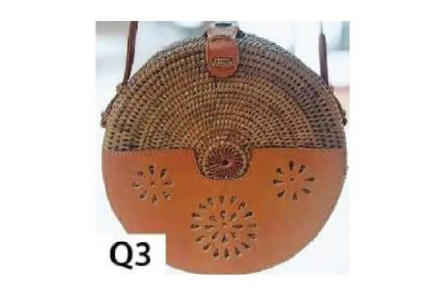 Rattan - Woven Bags Genuine with Different Design -Q3 Rattan Bags