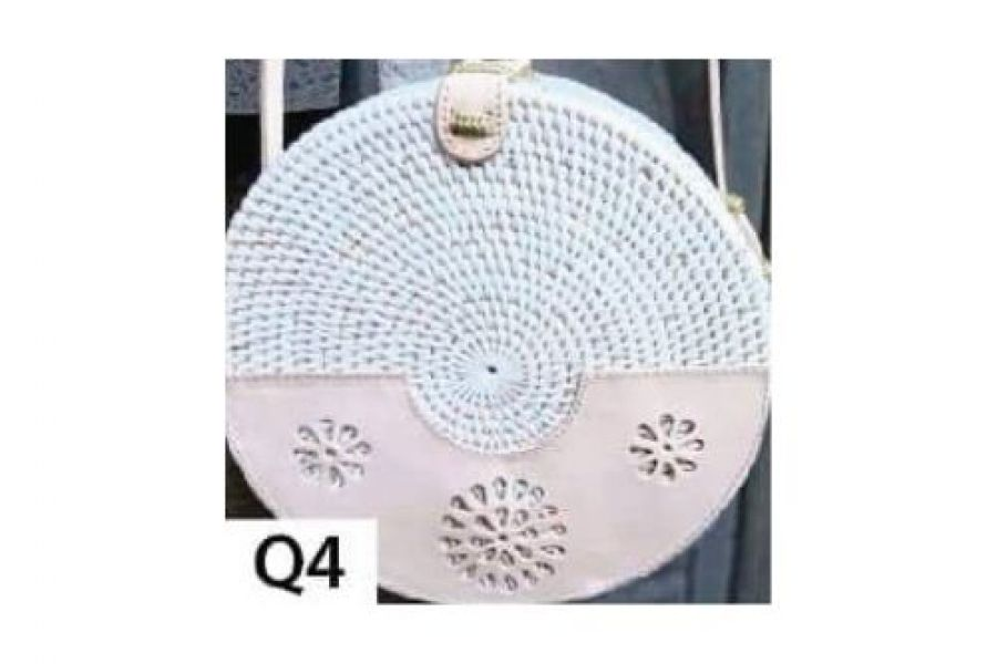 Rattan - Woven Bags Genuine with Different Design -Q4 Rattan Bags