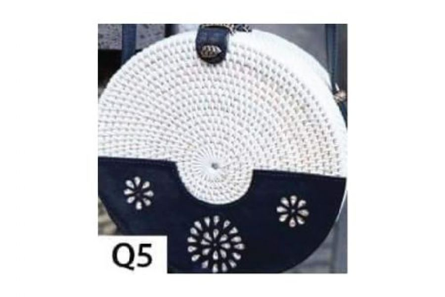 Rattan - Woven Bags Genuine with Different Design -Q5