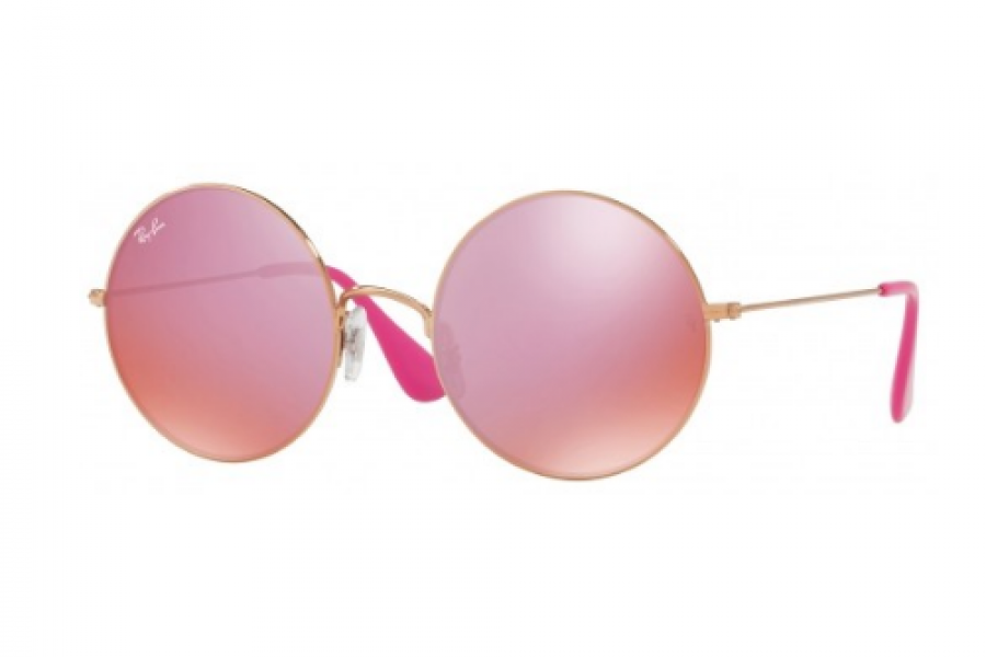 Ray-Ban - Ja Jo Pink Classic Gold Round For Ladies Sunglasses