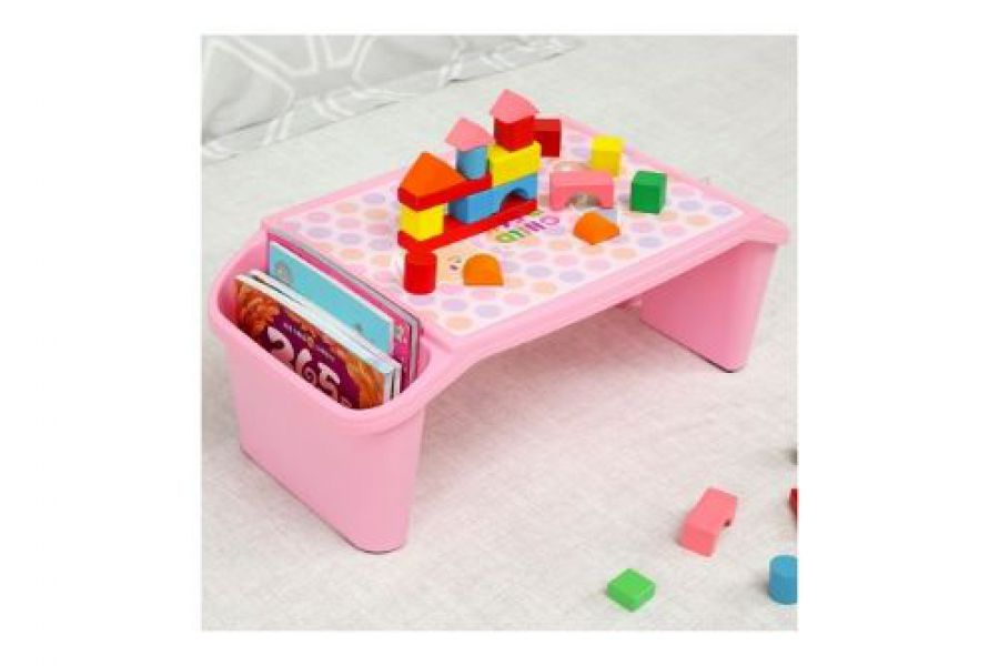 Laila Fashion - Baby Multi Purpose Study Desk Table (Pink)