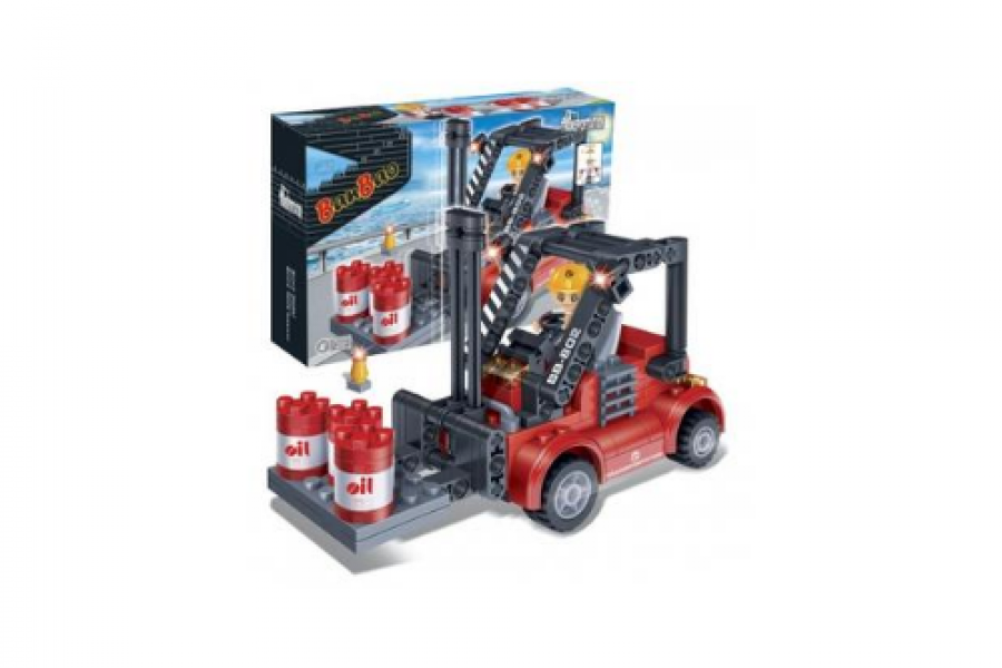 BanBao Interlocking Blocks Forklift (128 Pcs)