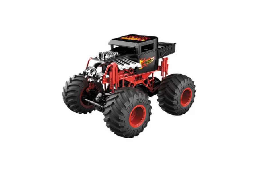 WORLD AUTO REMOTE CONTROL HOT WHEELS MONSTER TRUCKS BONE SHAKER