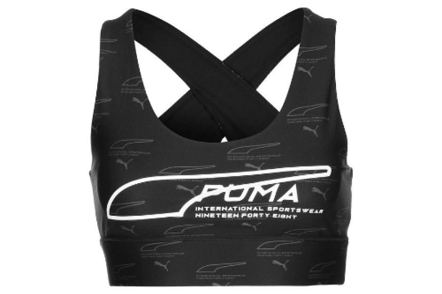 Puma Black Crop Top
