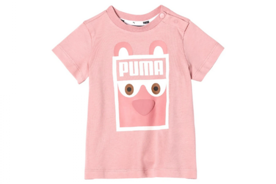 Puma - Graphic Printed T-shirt With Short Sleeves