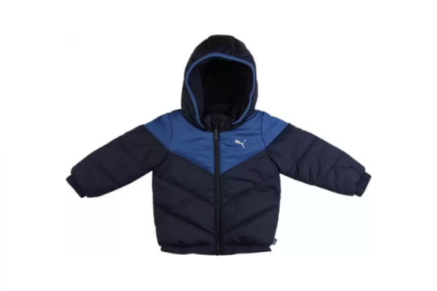 Puma - Infant Minicats Padded Jacket Black/Blue
