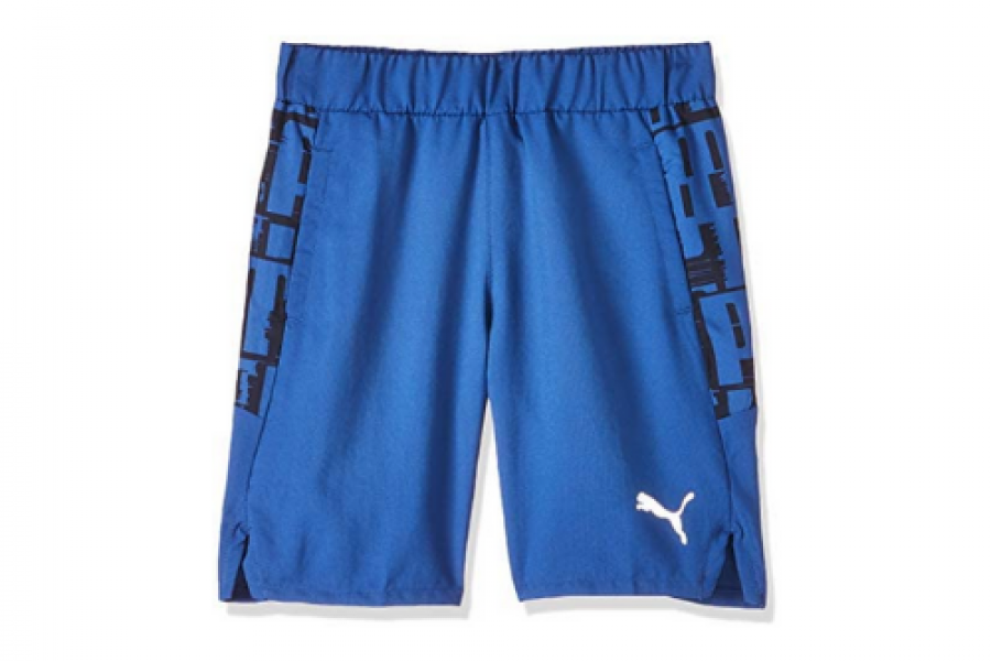 Puma - Printed Shorts with Pocket Detail and Elasticized Waistband