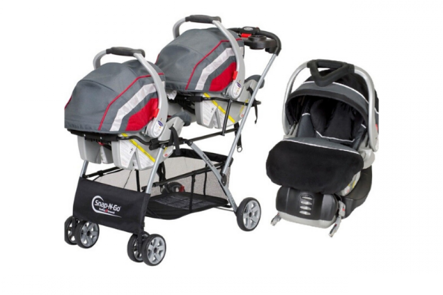 BabyTrend - Snap N Go Double + Infant Car Seat Onyx