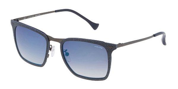b22dd2340 متاجر - الموضة الرجالية - نظارة شمسية ماركة بوليس SPL154 AG2B للرجال لون  ازرق